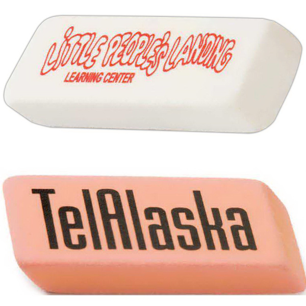 Imprinted Rectangular Eraser