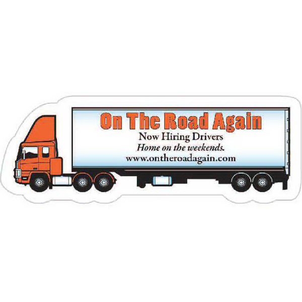 Customized Small Semi Truck Magnet - Series 280