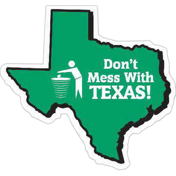 Personalized Texas Magnet - Series 080