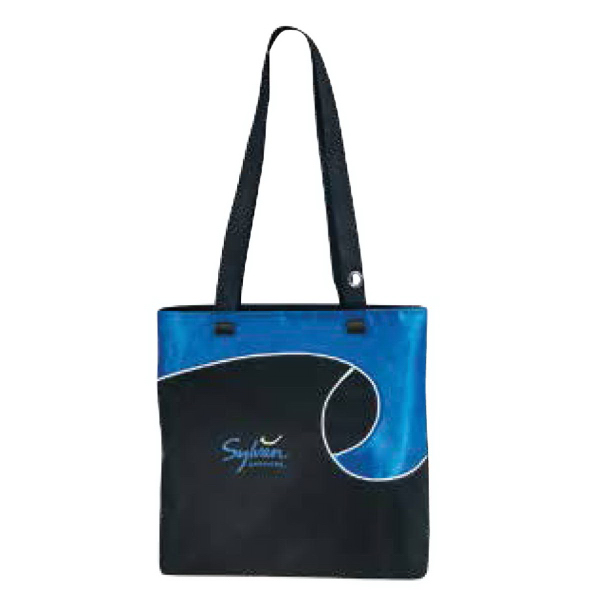 Customized Swirly Tote