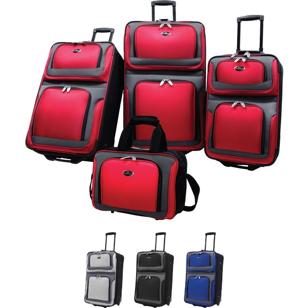 Printed New Yorker 4 Pc Luggage Collection