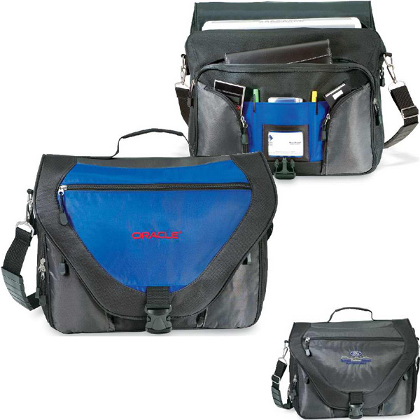 Personalized Synergy Messenger Bag