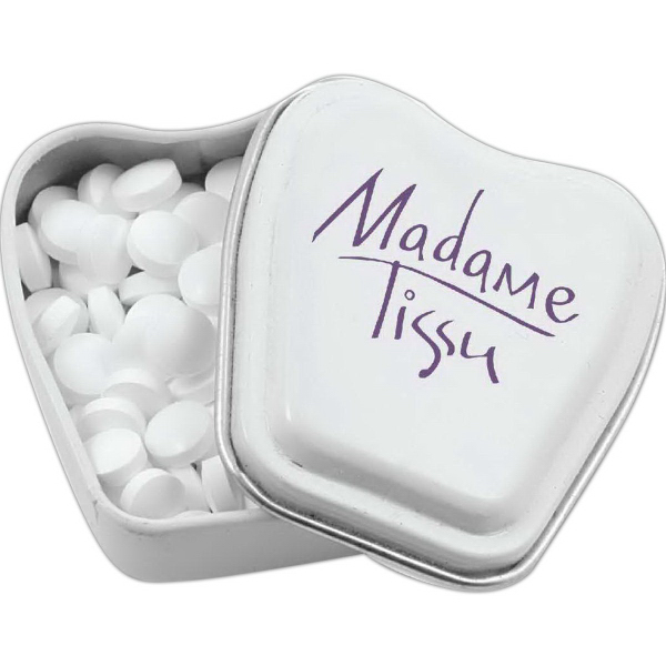 Personalized Tooth Shaped Mint Tin