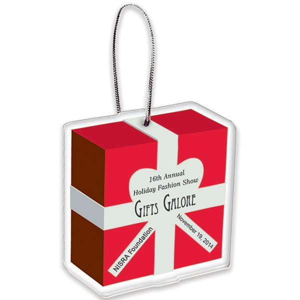 Custom Custom Shape Acrylic Holiday Ornament