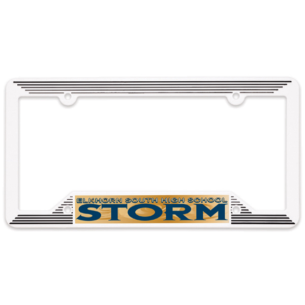 Personalized Molded License Plate Frame
