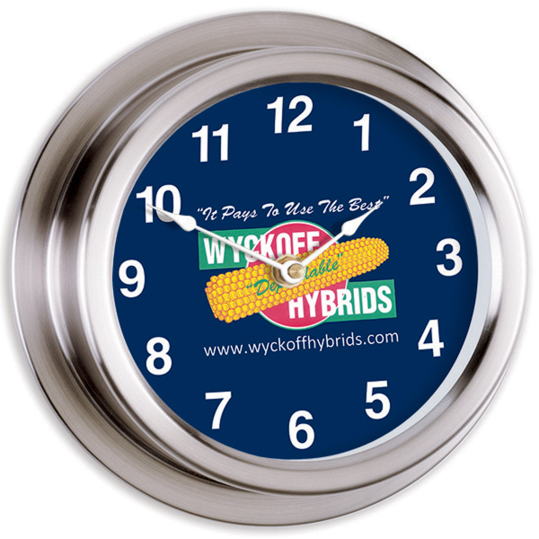 "Promotional 9"" Replica Porthole Clock"