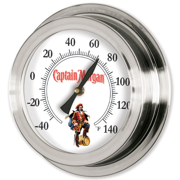 Printed Replica Porthole Thermometer
