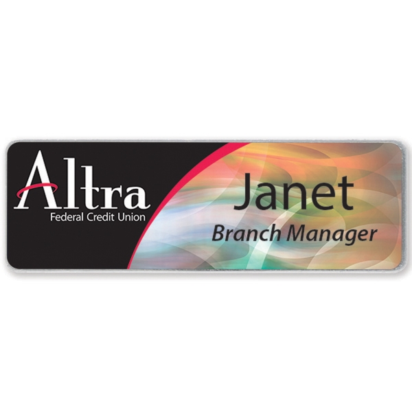 Promotional Name Badge