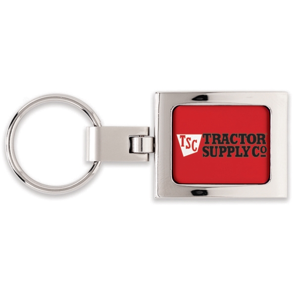 Imprinted Premium Key Ring