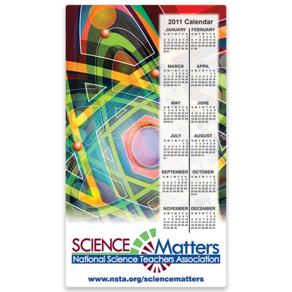 Printed Rectangular Full Color Laminated Magnet