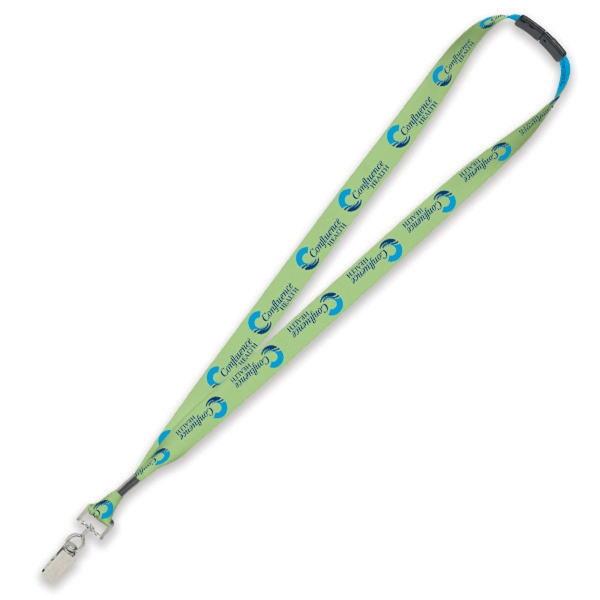 "Custom 3/4"" Lanyard with Metal Crimp"