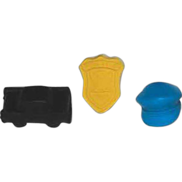 Promotional Mini Police Pencil Top Eraser