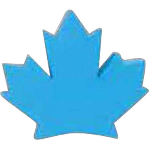 Imprinted Maple Leaf Pencil Top Eraser