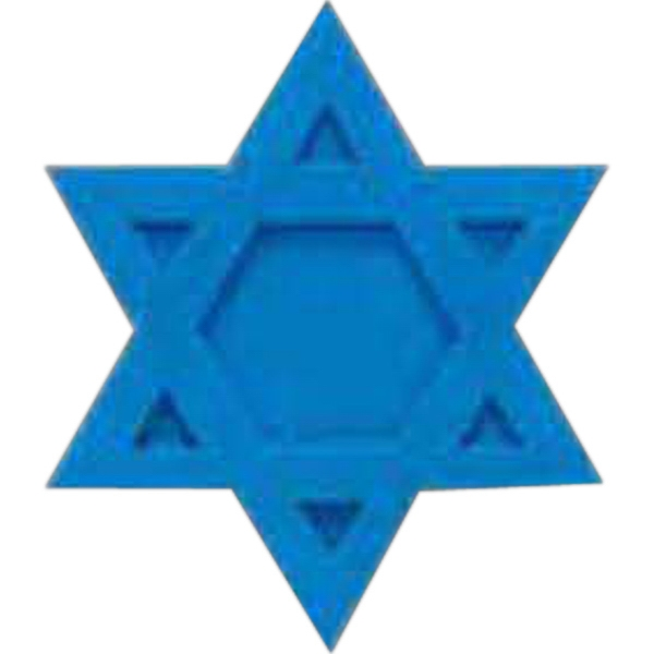 Promotional Star of David Eraser