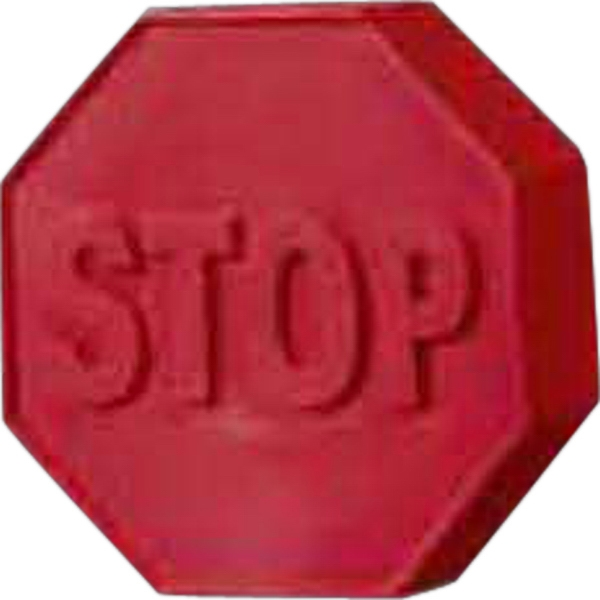 Personalized Stop Sign Pencil Top Eraser