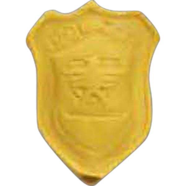 Promotional Police Badge Pencil Top Eraser