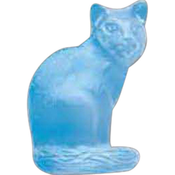 Imprinted Cat Pencil Top Eraser