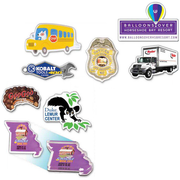 Promotional Custom Shape Acrylic Magnet