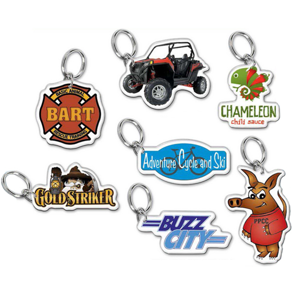 Promotional Custom Shape Acrylic Key Ring