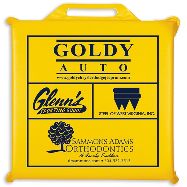 Promotional Deluxe Seat Cushion