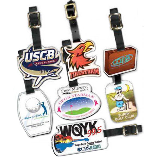 Promotional Custom Shape Acrylic Bag Tag