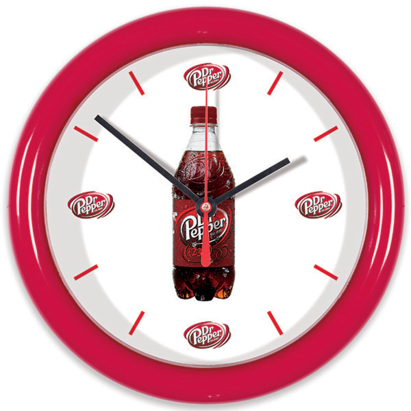 "Imprinted 8 1/2"" Wall Clock"