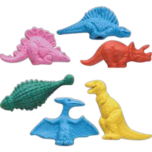 Customized Dinosaurs Pencil Top Eraser
