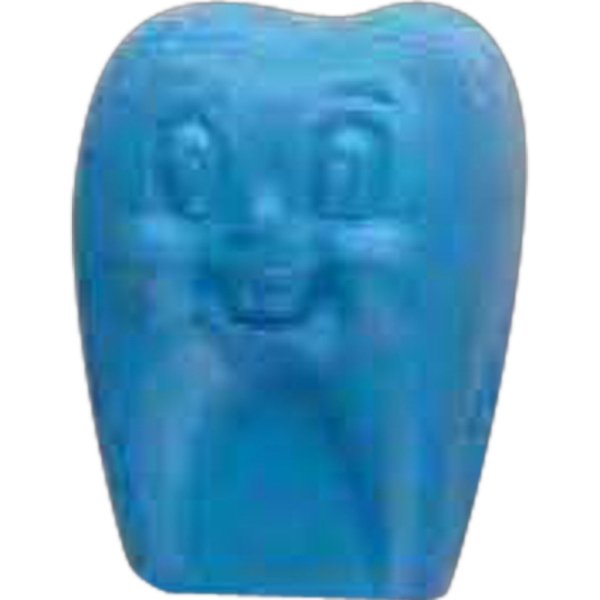 Imprinted Jolly Tooth Pencil Top Eraser