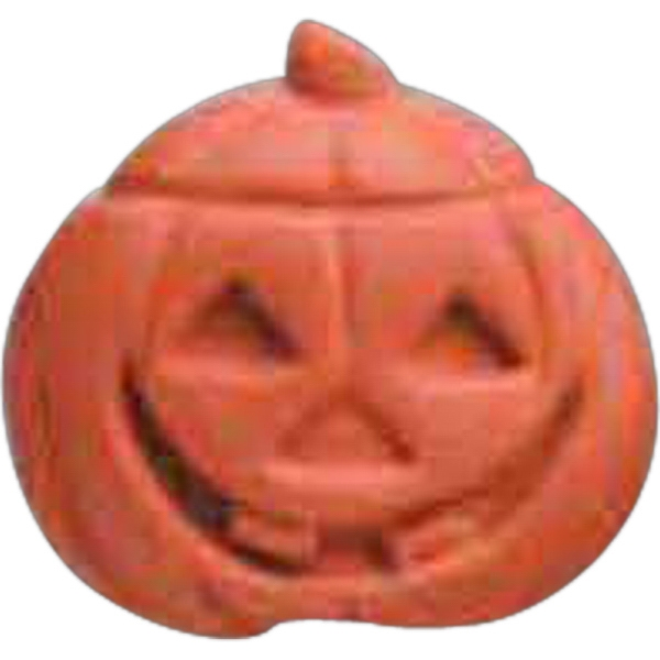 Customized Jack-O-Lantern Pencil Top Eraser