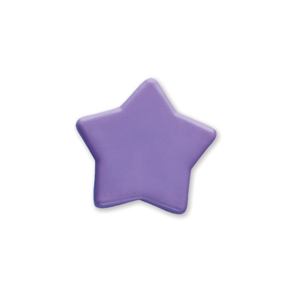 Printed Star Pencil Top Eraser