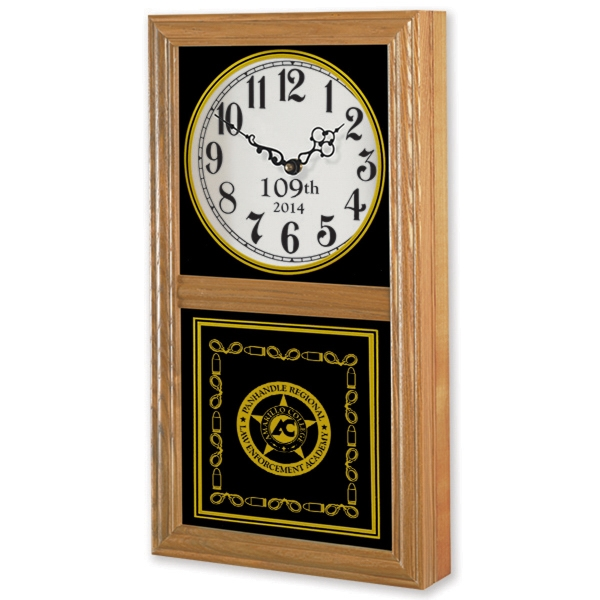 Personalized Wood Wall Clock