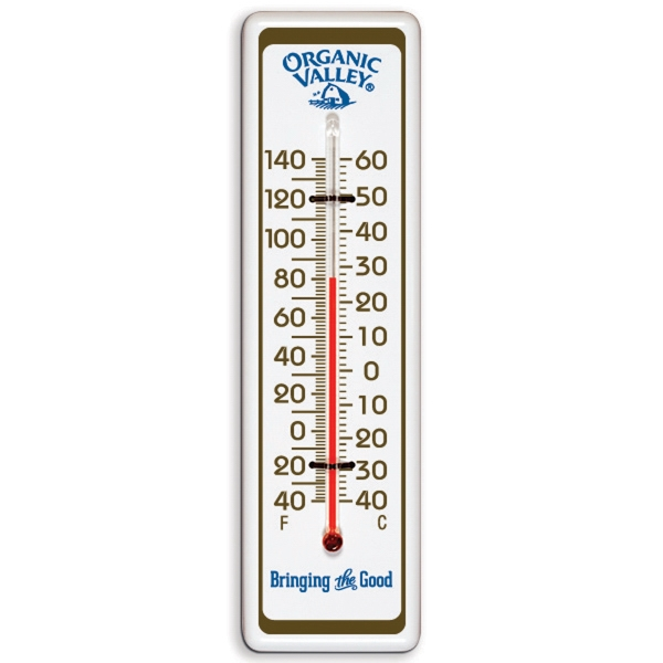 Imprinted Indoor / Outdoor Thermometer