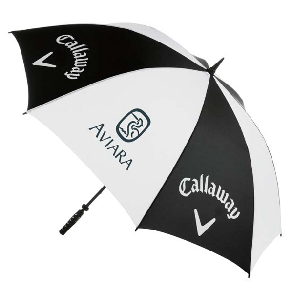 "Printed Callaway (R) 64"" Golf Umbrella"