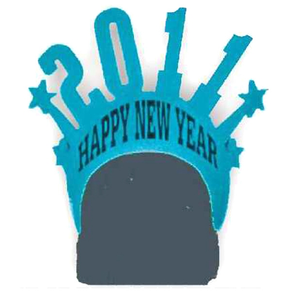 Customized Foam Visor Headwear - New Year