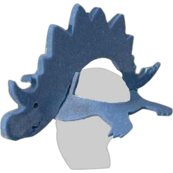 Printed Foam Animal Hat - Dinosaur