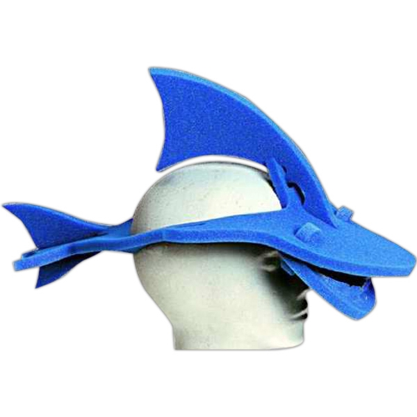 Promotional Foam Animal Hat - Shark
