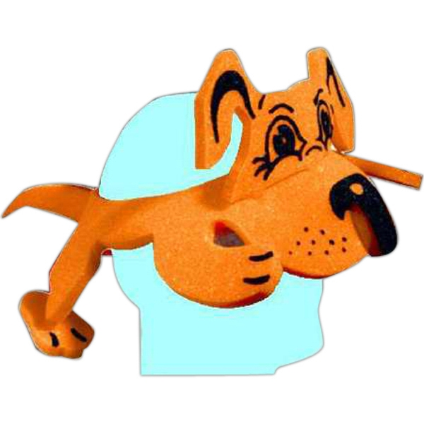 Imprinted Foam Animal Hat - Dog