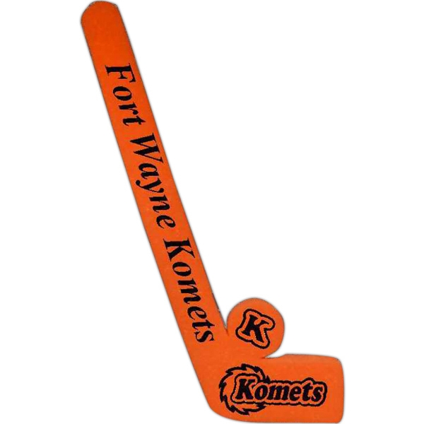 Personalized Foam Hockey Stick and Puck Set