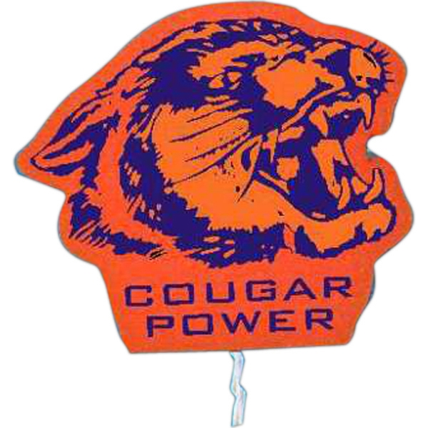 Promotional Mascot on a Stick - Cougar