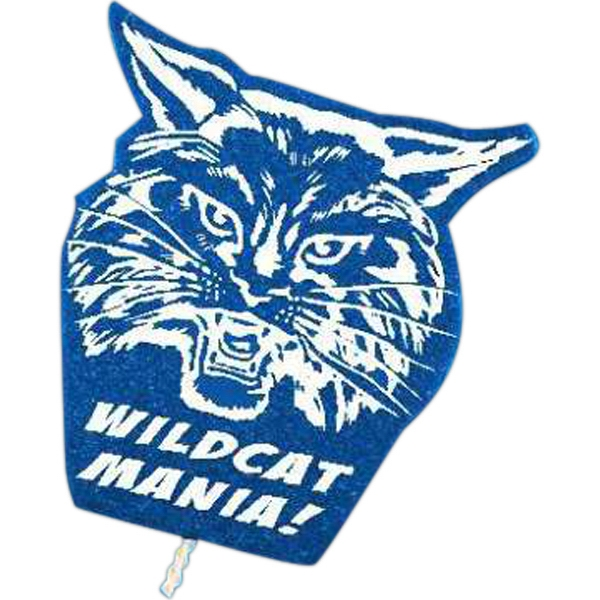 Custom Mascot on a Stick - Wildcat