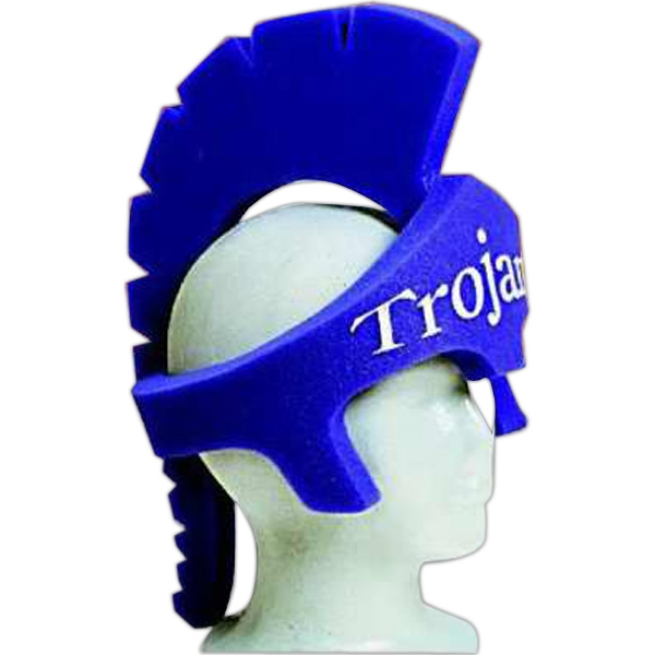 Customized Foam Mascot Hat - Trojan/Spartan