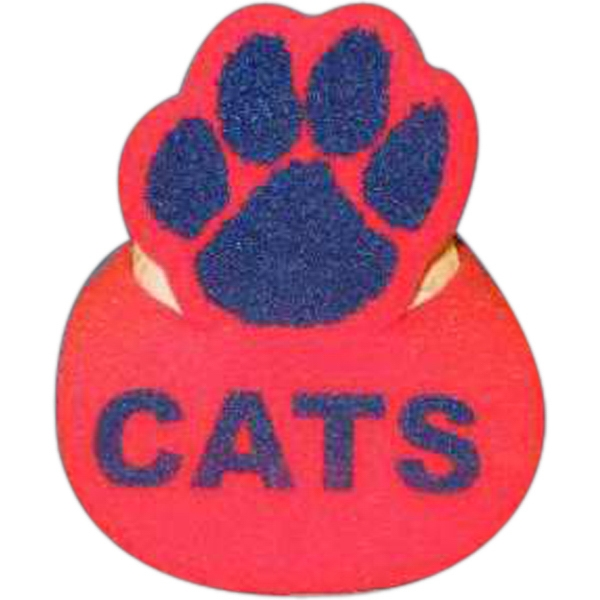 Personalized Paw Print Foam Pop-Up Visor