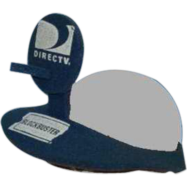 Imprinted Satellite Dish Foam Pop-Up Visor