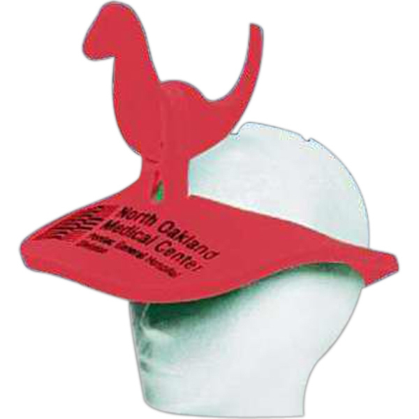 Promotional Dinosaur Foam Pop-Up Visor