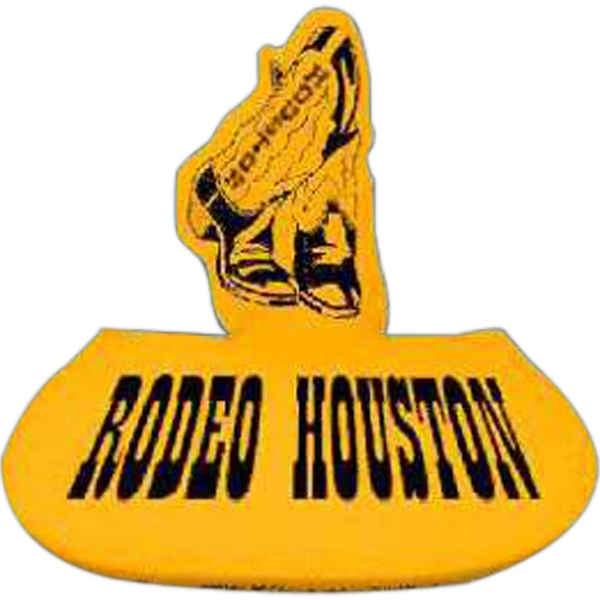 Customized Cowboy Boots Foam Pop-Up Visor