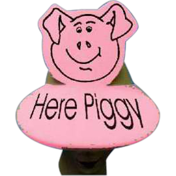 Printed Pig Foam Pop-Up Visor