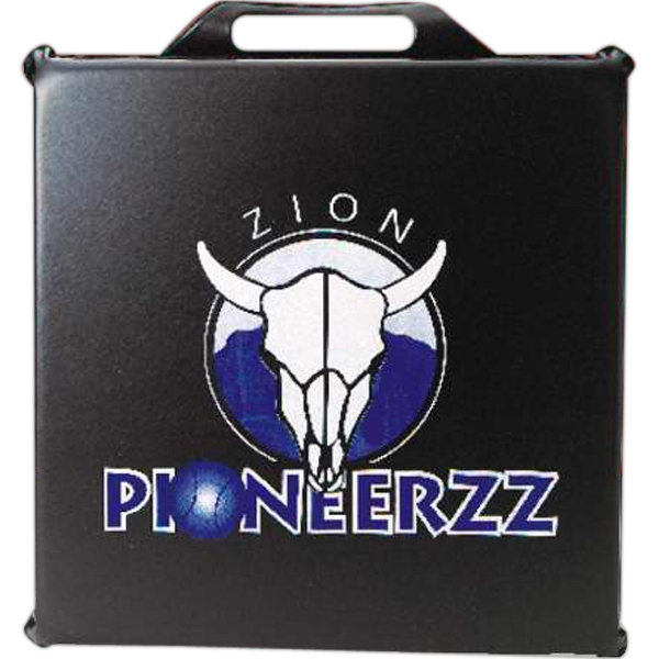 "Promotional Square Stadium Cushion - 11"" Sq. x 1"""