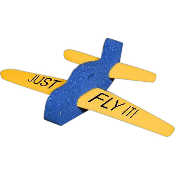 Imprinted 3-Piece Foam Airplane