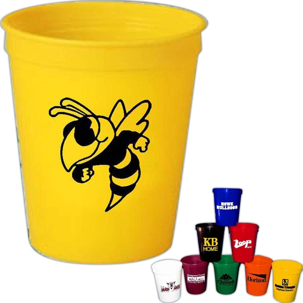 Promotional 16 oz. Plastic Stadium Cup