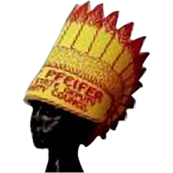Customized Foam Indian Headdress